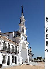 The Hermitage of El Rocio ( Ermita del Rocio or Ermita de El...