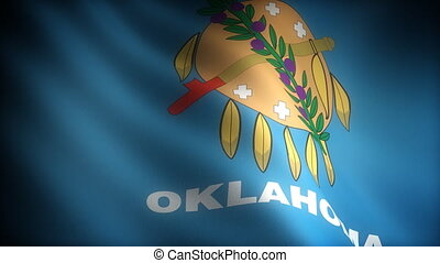 Flag of Oklahoma seamless