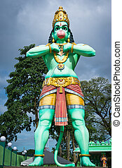 Giant statue of Hanuman - Statue of a giant Lord Hanuman...