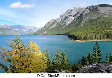 Lake Minnewanka and Mount Inglismaldie
