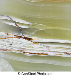 Green onyx texture with white veins