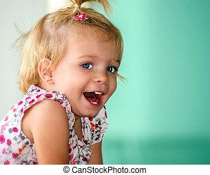 Little Girl enjoying life