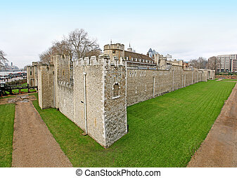 Tower of London wall