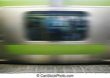 Magnetic levitation train - the fastest passenger train...