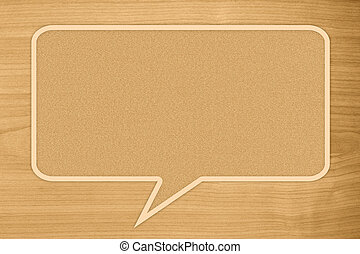 quote text on brown wooden background