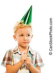 My birthday today, I'm ready