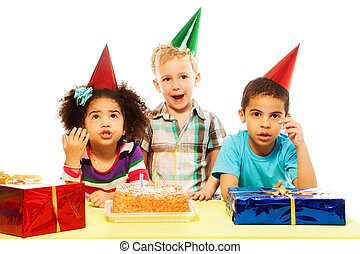 Is birthday party is over already?