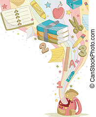 Education Elements - Illustration of Education Elements...