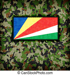 Amy camouflage uniform, The Seychelles - Amy camouflage...