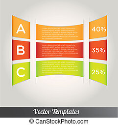 Template vector eps10 illustration