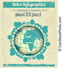 Eco Planet Concept - Ecology Concept Eco Planet, Blue Earth...