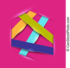 colorful banners design elements for business