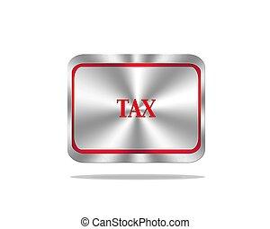 税, ボタン