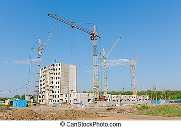 Russia. City Orel. Building a house. - Russia. City Orel....