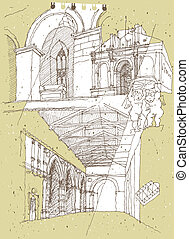 Sketching Historical Architecture in Italy: Rimini....