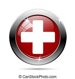 Medical red/white cross
