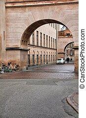 Copenhagen, Denmark - Copenhagen Old Town - capital city of...