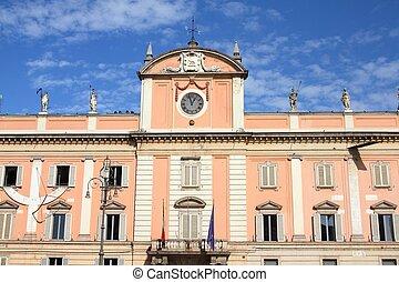Piacenza, Italy - Emilia-Romagna region. Neoclassical...