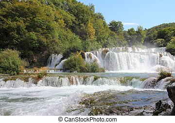Croatia - Krka National Park in Dalmatia. Beautiful...