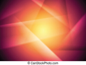Abstract vibrant vector background
