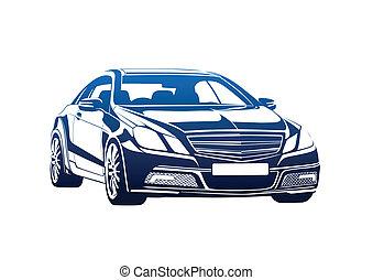 Big boss - Sport auto vector