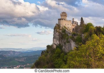 Castle in San Marino - La Cesta or Fratta, Seconda Torre -...