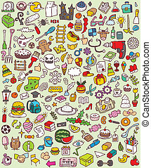 Big Doodle Icons Set is collection of numerous small hand...