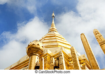 A symbol of Chiangmai, Doi Sutep Temple