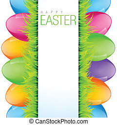colorful easter design - vector colorful easter background...