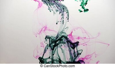 Farbige Tinte / colored ink