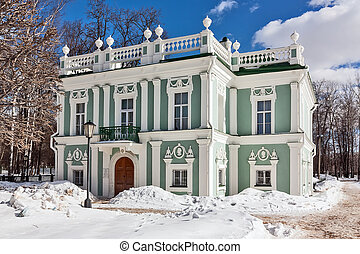 Kuskovo, Moscow - The Italian small house in Kuskovo estate...