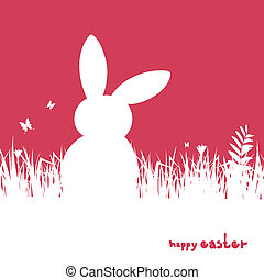 Vector Easter Background - Vector Illustration of an Easter...