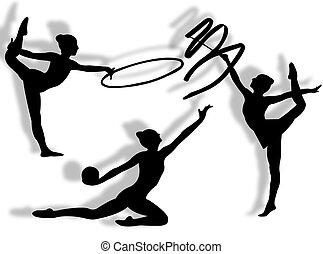 Art et illustrations de gymnastique 19 087 graphiques - Dessin de grs ...