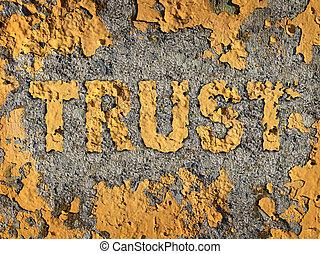 perdendo, confiança