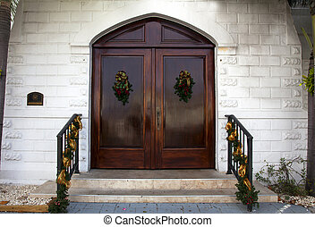 Front Doors to Church