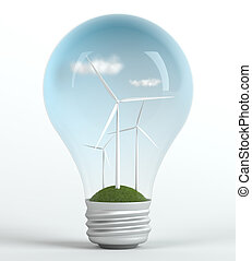Environmentally friendly energy - Green power generating...