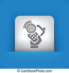 Illustration of single vector icon - Vector illustration of...