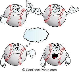 Bored baseball set