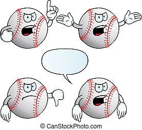 Angry baseball set