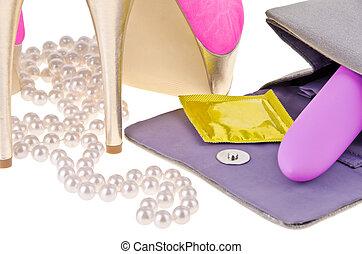 femmina, accessori