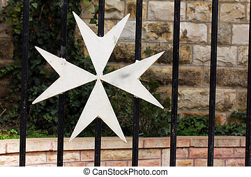 Maltese cross Jerusalem Israel