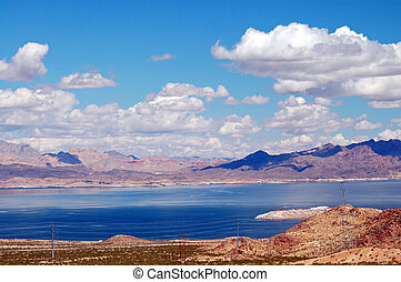 Lake Mead Las Vegas - Lake mead in las vegas , nevada,USA is...