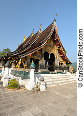 The Wat Xieng Thong in Luang Prabang, Laos