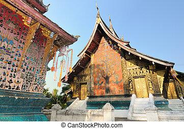 Wat Xieng Thong in Luang Prabang, Laos