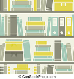 Seamless Office Pattern