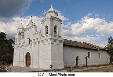 catedral, Ojojona, honduras