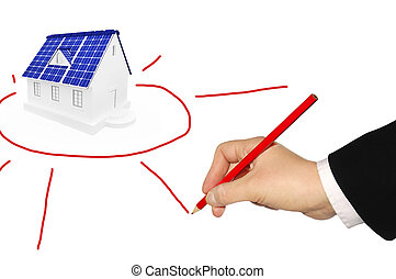 alternative energy sources - The concept of use of...