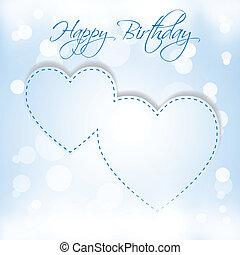 Happy Birthday 2 hearts