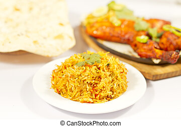 Indian Food Chicken Tandori