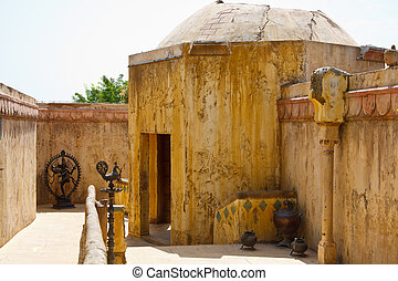 Moroccan street and house - Typical Moroccan street and...